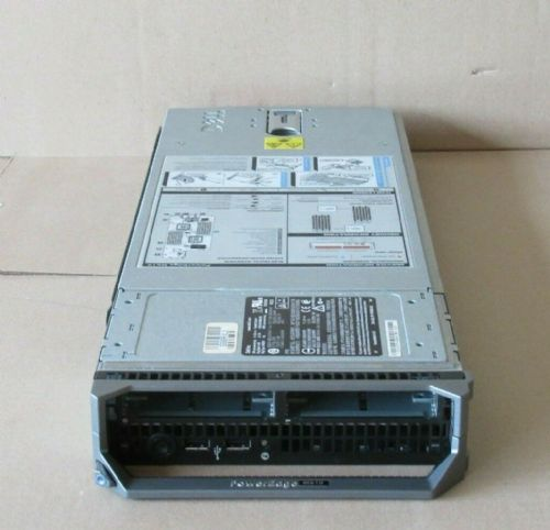 Dell Poweredge M610 Blade Server With Motherboard SAS Backplane Flash Board